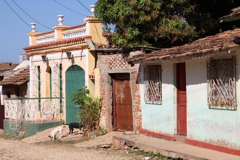 Le Trinidad, Cuba photos libres de droits