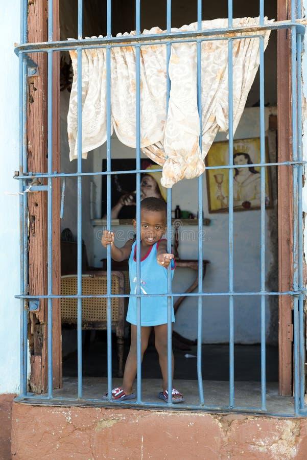 Le Trinidad, Cuba photographie stock libre de droits