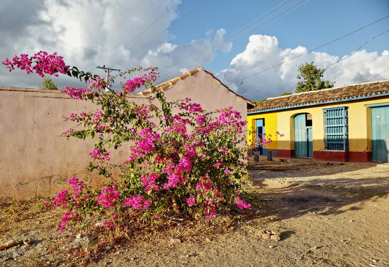 Le Trinidad, Cuba photo stock