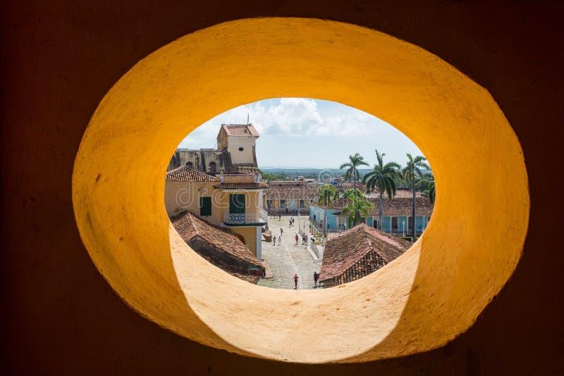 Le Trinidad, Cuba, ?glise de la trinit? sainte Iglesia de la Santisima Trinidad photos libres de droits
