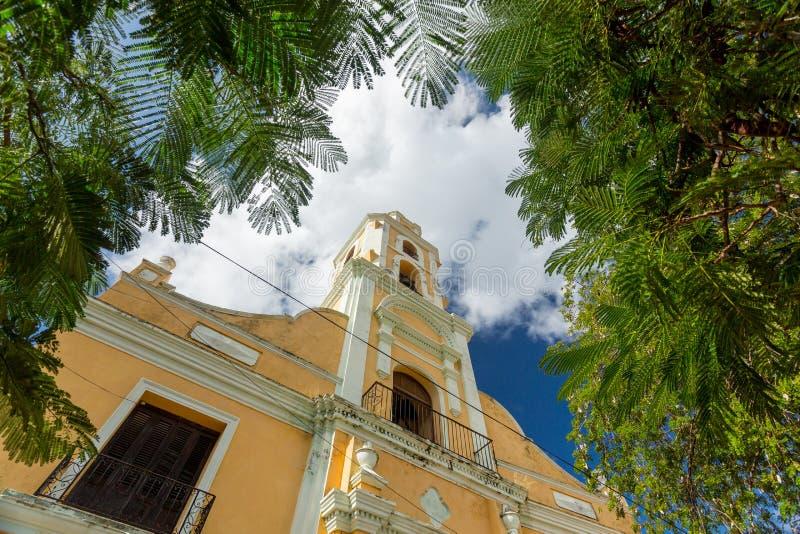 Le Trinidad, Cuba Musée National de la lutte contre des bandits images libres de droits