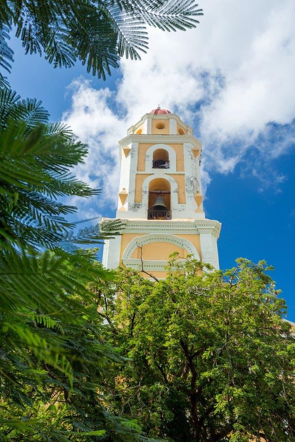 Le Trinidad, Cuba Musée National de la lutte contre des bandits photographie stock libre de droits