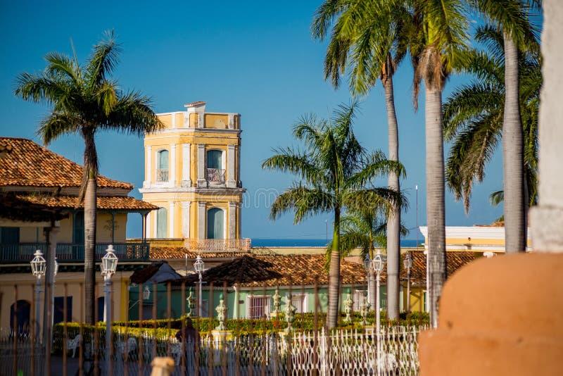 Le Trinidad, Cuba Palacio de Cantero photo libre de droits