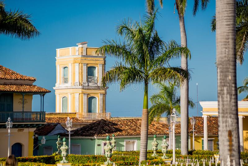 Le Trinidad, Cuba Palacio de Cantero images stock