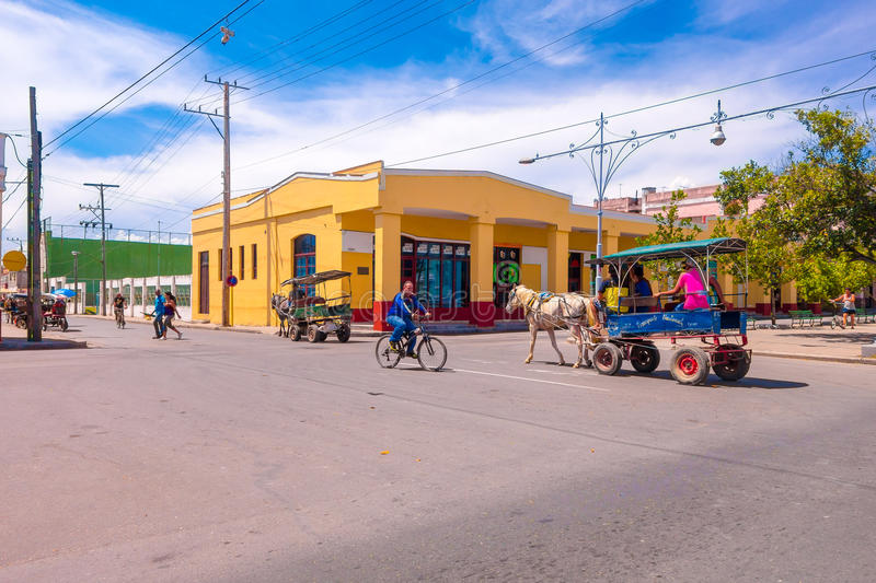 LE TRINIDAD, CUBA - 12 SEPTEMBRE 2015 : Capital de photo libre de droits