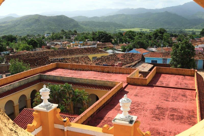 Le Trinidad, Cuba - un site de patrimoine mondial de l'UNESCO photo stock