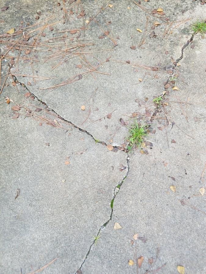 Le trottoir fend la géométrie photo stock