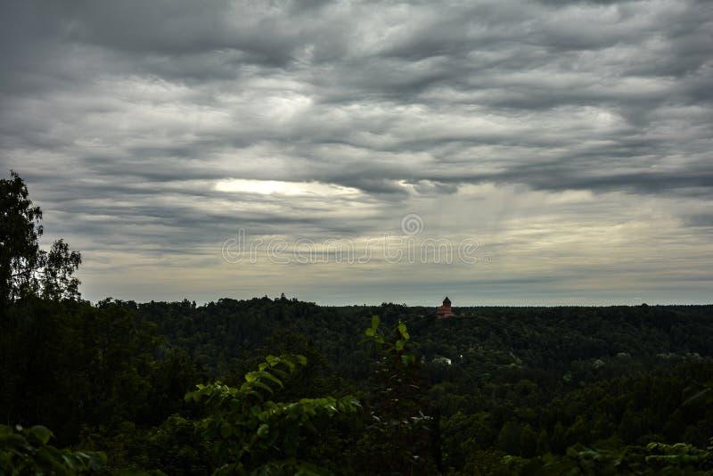 Le trou dans le ciel photographie stock libre de droits