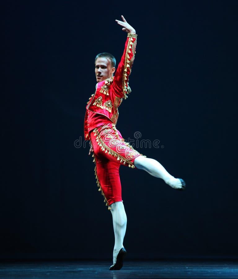 Le troupe ceche di balletto del teatro nazionale fotografie stock