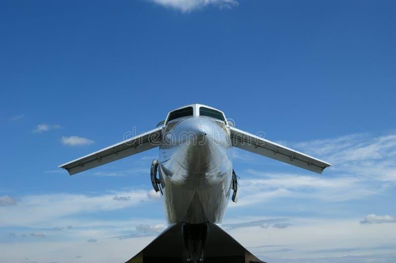 Le Tupolev Tu-144 (nom de l'OTAN : Chargeur) images stock