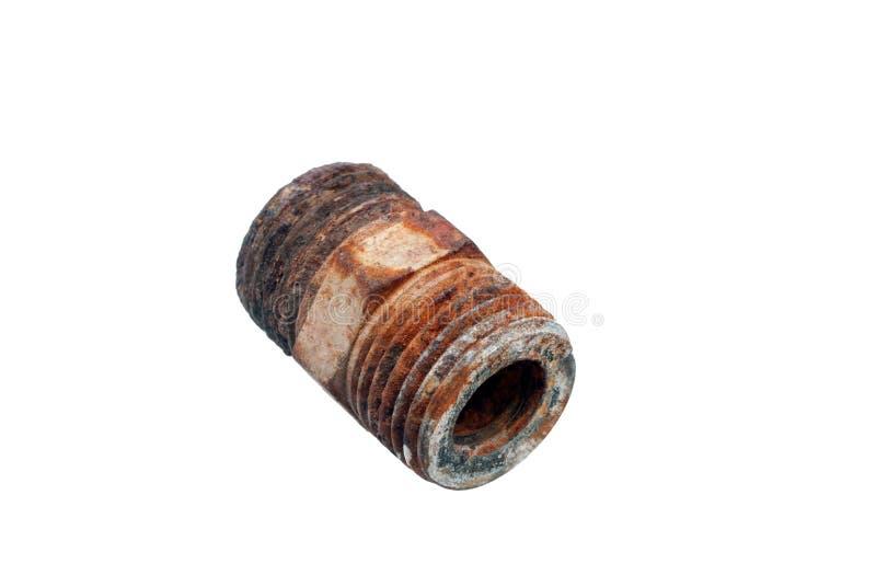 Le tuyau rouillé de fer photos libres de droits