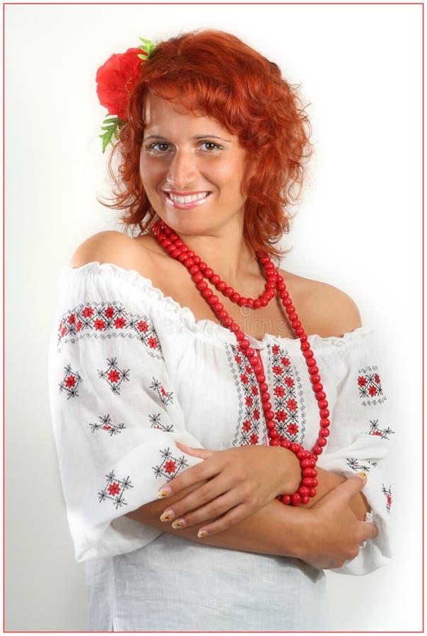 le ukranian kvinnor royaltyfri bild