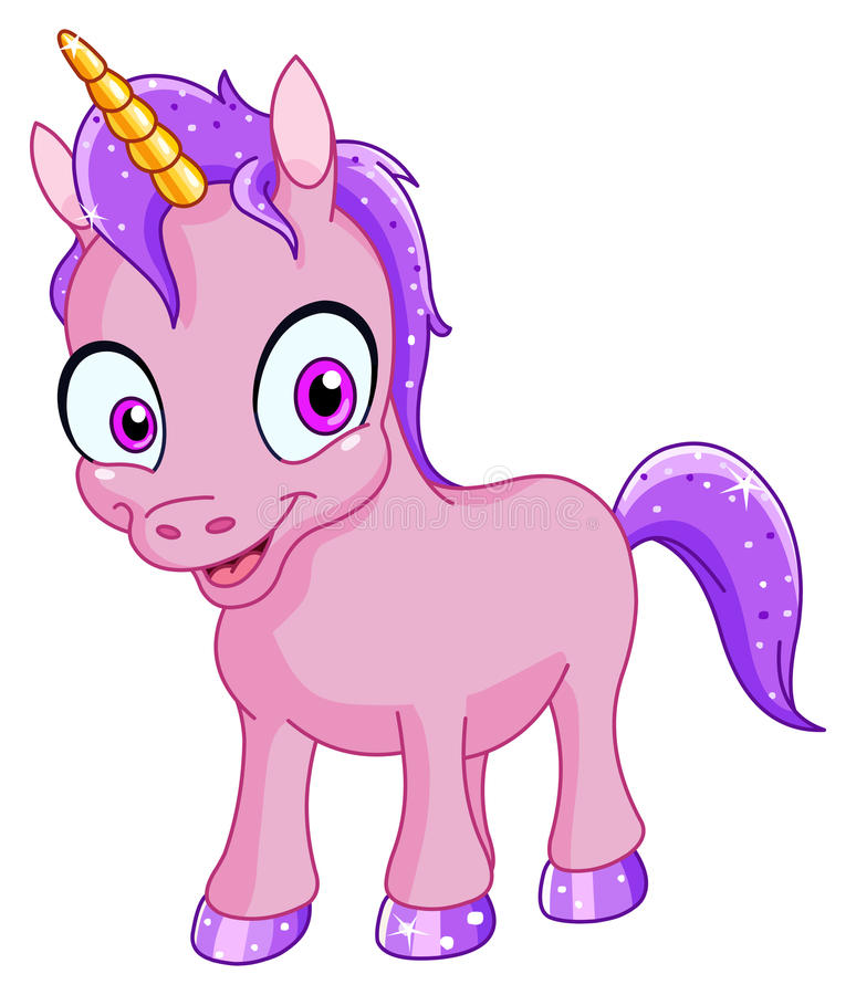 le unicorn stock illustrationer