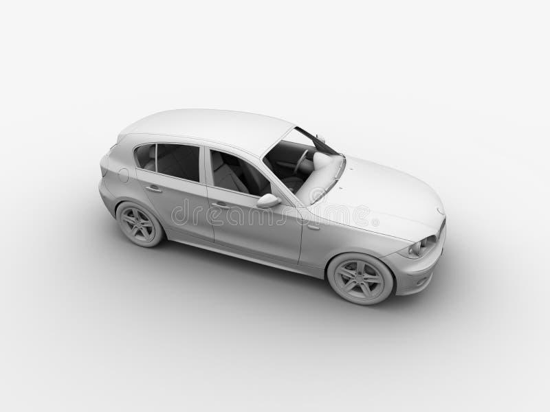 Download Le Véhicule 3D D'argile Rendent Illustration Stock - Illustration du avant, ligne: 736508