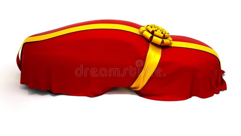 Le véhicule du rêve ou le présent indiquent illustration de vecteur