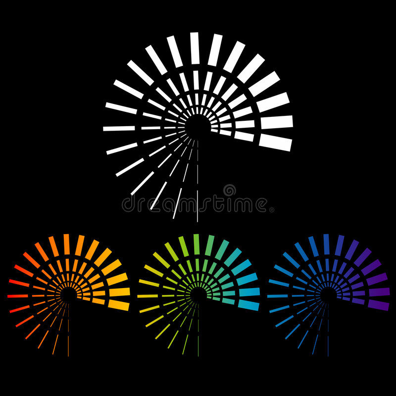 Le véhicule synchronise des illustrations illustration stock