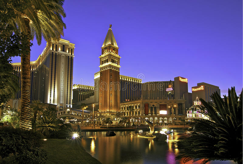 Le vénitien, Las Vegas photo stock
