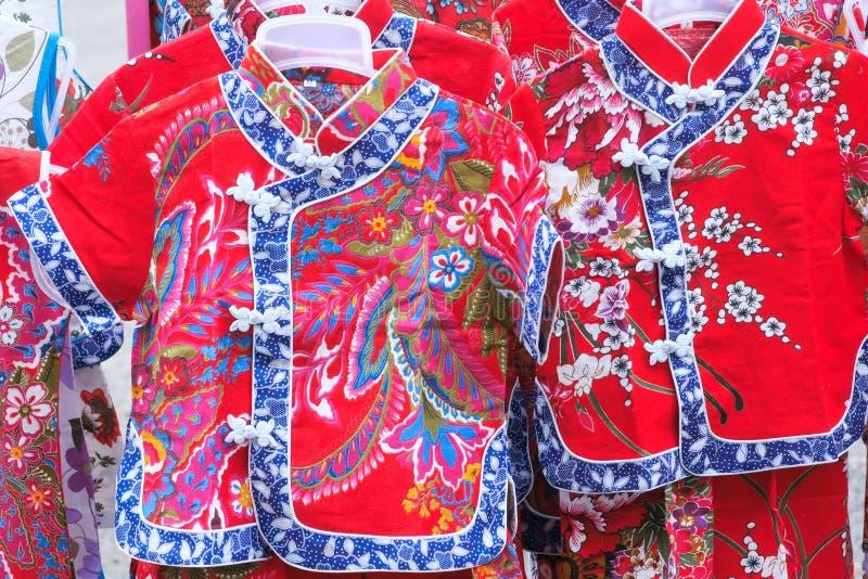 Le vêtement de la fille chinoise images libres de droits