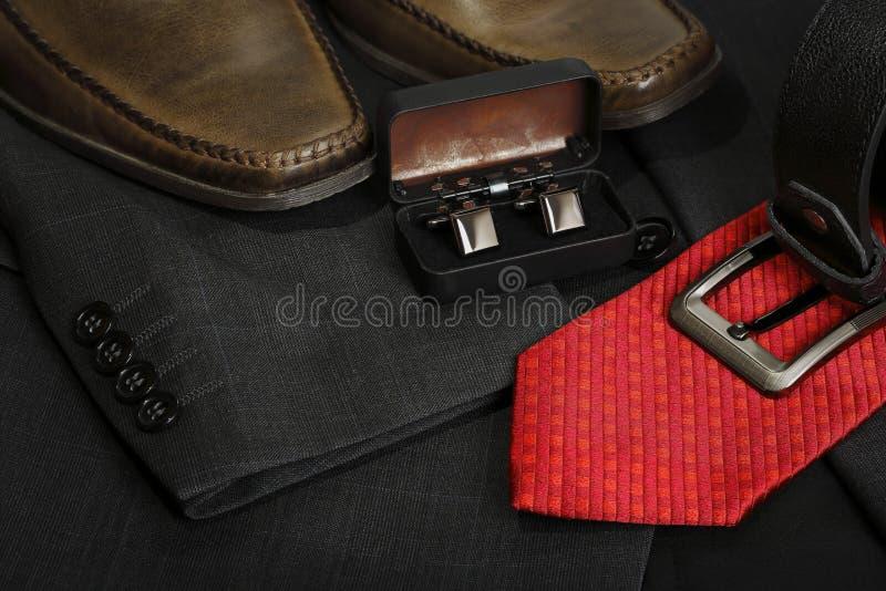 Le vêtement des hommes image stock