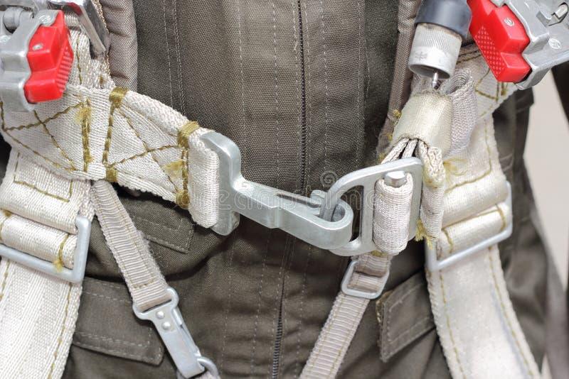 Le vêtement, militaires de harnais pilotent photos stock