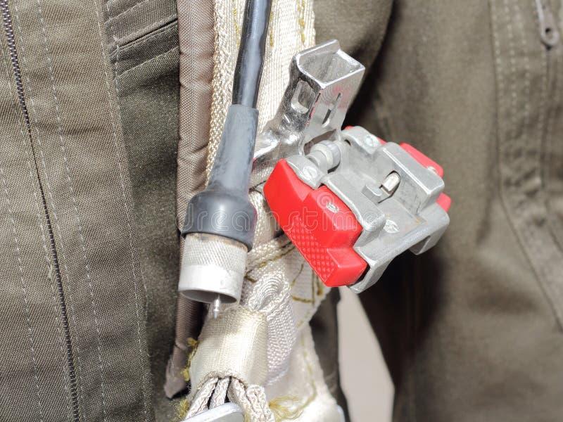 Le vêtement, militaires de harnais pilotent images libres de droits