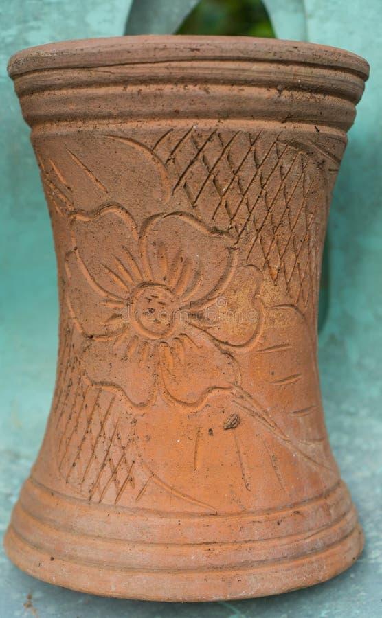 Le vase qui est une compétence des personnes thaïlandaises photo stock