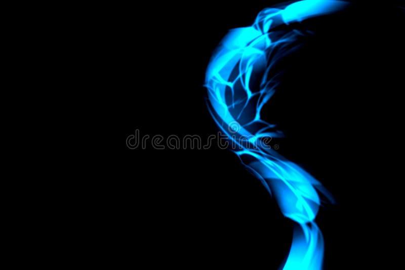Le vecteur bleu et noir d'abrégé sur couleur a ombragé le papier peint de fond Illustration de vecteur images stock
