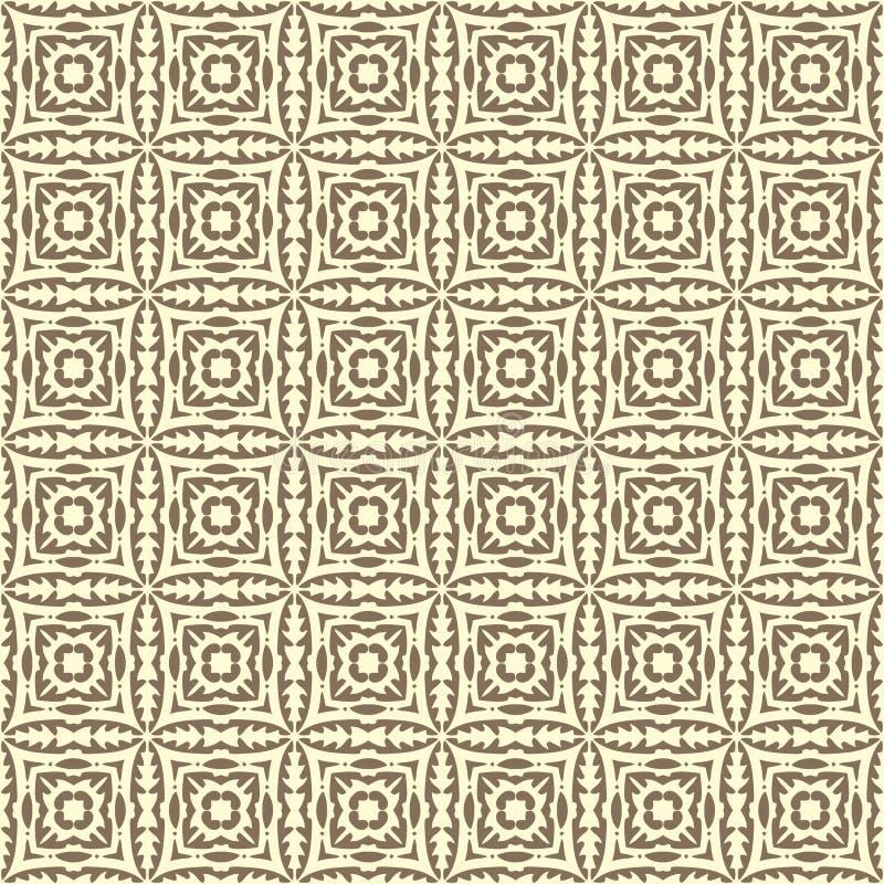 Le vecteur de tissu a ajusté l'illustration sans couture de modèle de fond de conception dans coloré illustration libre de droits