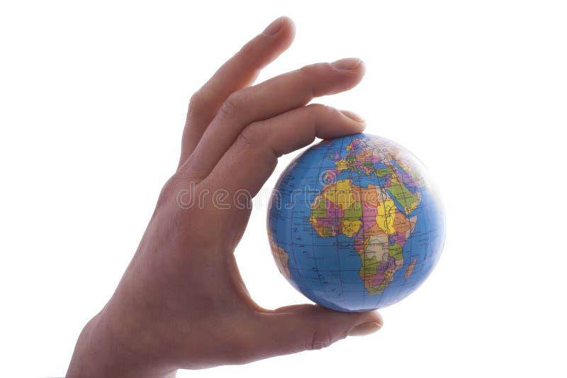 le vecteur différent d'illustration de globe visualise le monde photographie stock libre de droits