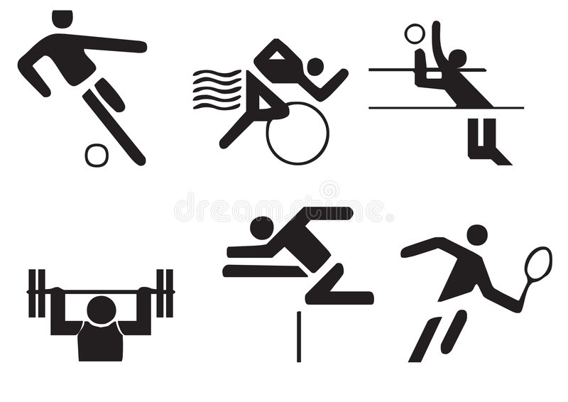 Le vecteur folâtre des symboles illustration de vecteur