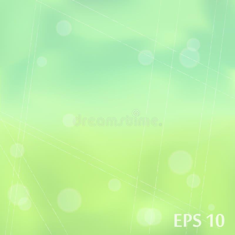 Le vecteur vert a brouillé le fond pour vous conception photos libres de droits