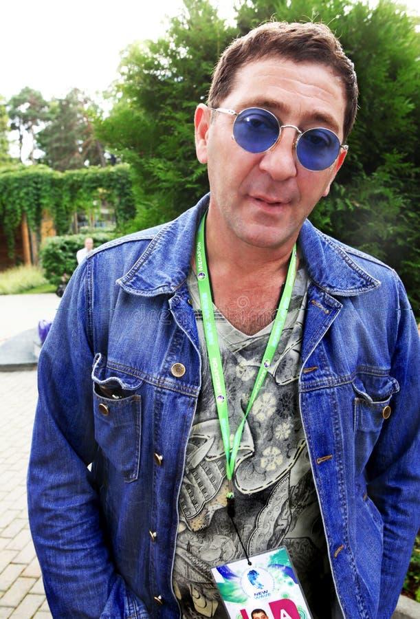 Le vedette de pop Grigory Leps image libre de droits