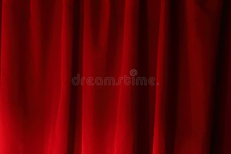 Le velours rouge drape photo libre de droits