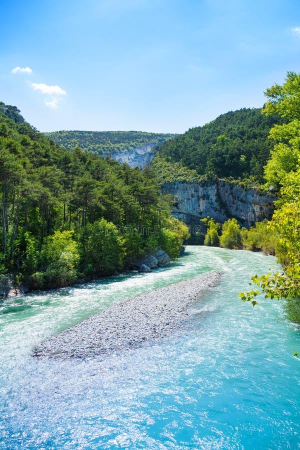 Le Verdon rzeka obrazy royalty free