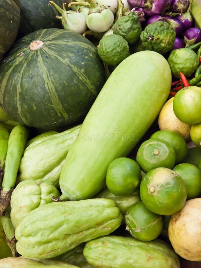 Le Verdure Forniscono Le Sostanze Nutrienti. Fotografia Stock