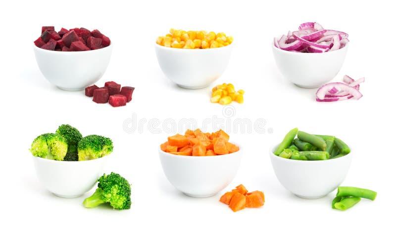 Le verdure hanno messo 2 fotografia stock libera da diritti