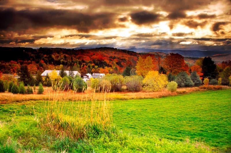 Le Vermontn, Etats-Unis photo libre de droits