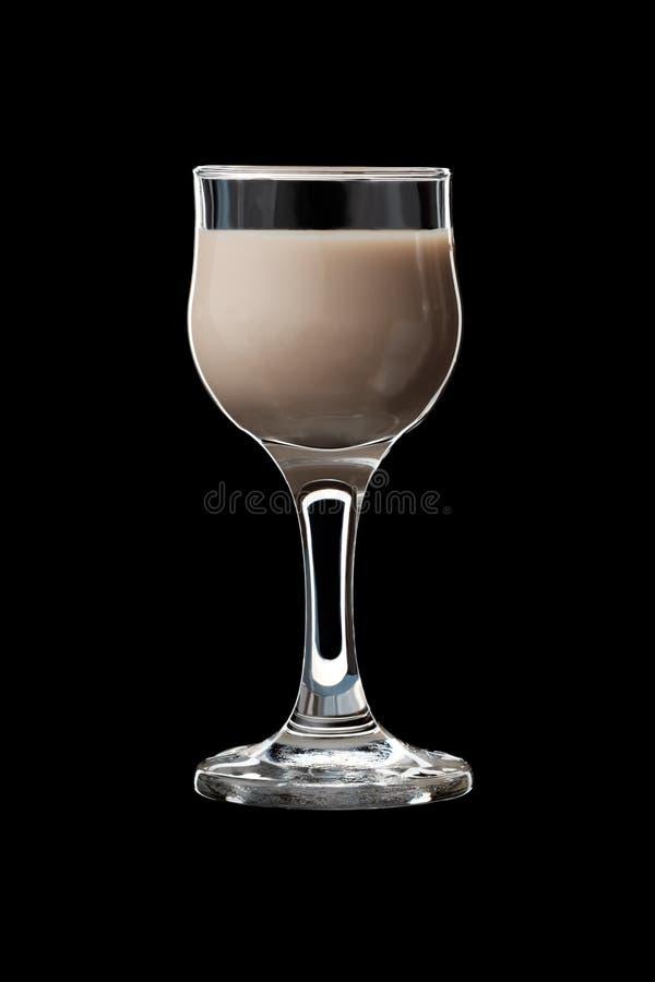 Le verre de boisson alcoolisée photo stock