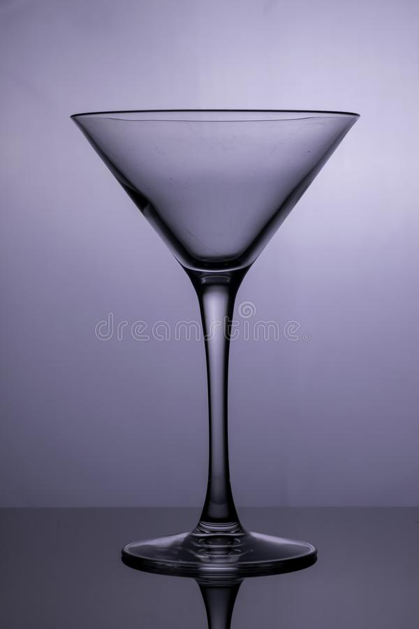 Le verre de cocktail images stock