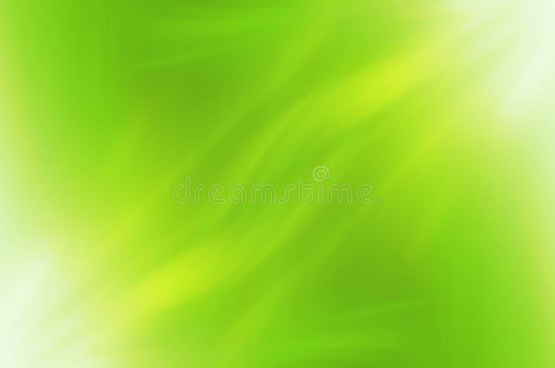 Le vert abstrait courbe le fond illustration de vecteur