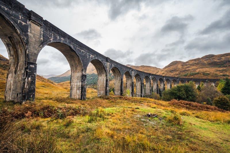 Le viaduc de Glenfinnan image libre de droits