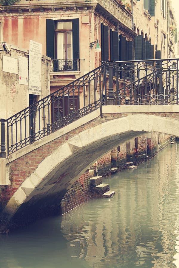Le vie di Venezia fotografia stock