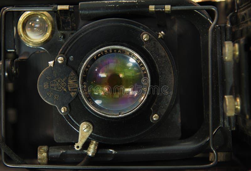Le vieil appareil-photo soviétique de télémètre photographie stock