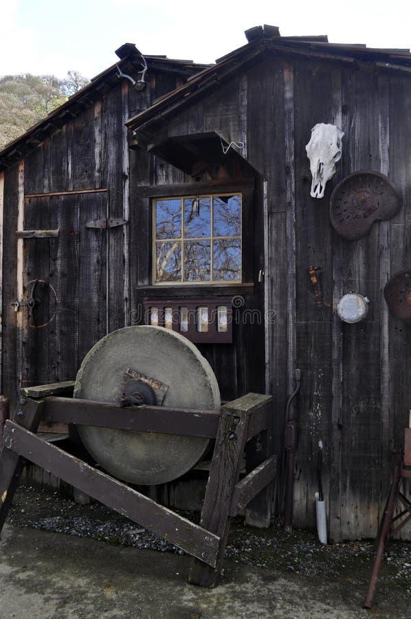 Le vieil atelier images stock