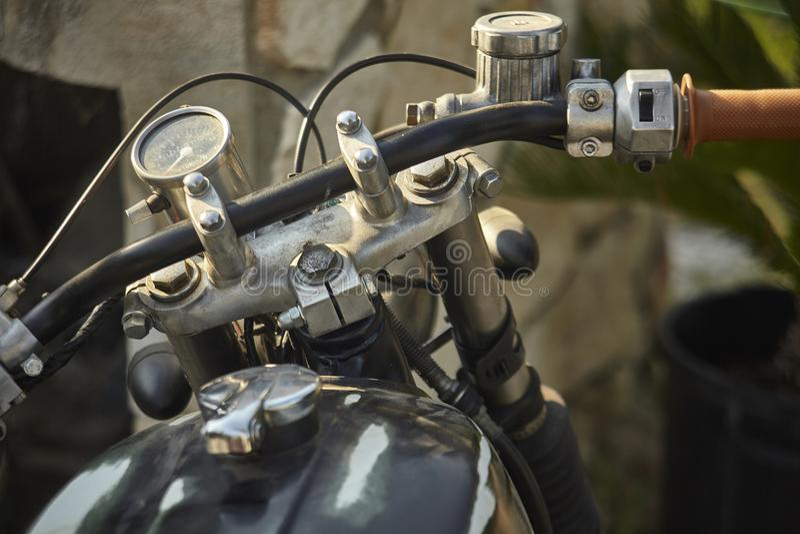 Le vieillissement du vélo sous le temps images libres de droits