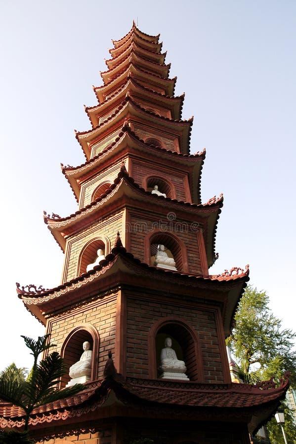 Le Vietnam, Hanoï : Fils de Ngoc de temple images libres de droits