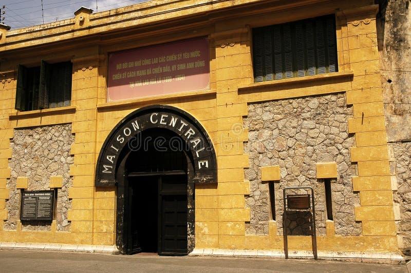 Le Vietnam, Hanoï : Prison de Hoa Lo photographie stock