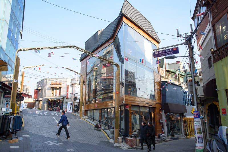 Le Vietnam QuyNhon-gil dans Itaewon, Séoul photographie stock