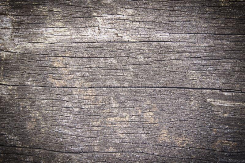 Le vieux bois donne au fond une consistance rugueuse photo libre de droits