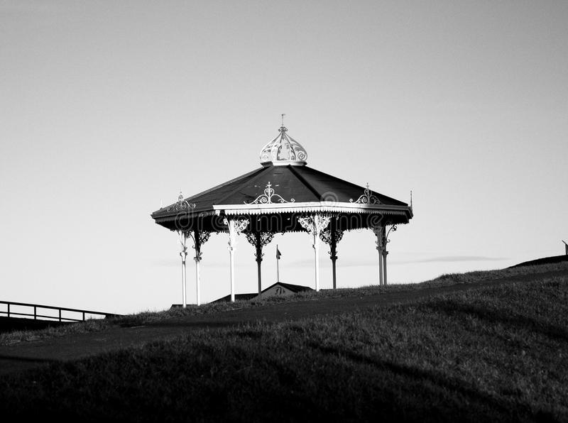 Le vieux carrousel, Saint Andrews, Ecosse image libre de droits